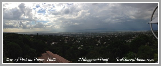 View of Port au Prince Haiti #Bloggers4Haiti