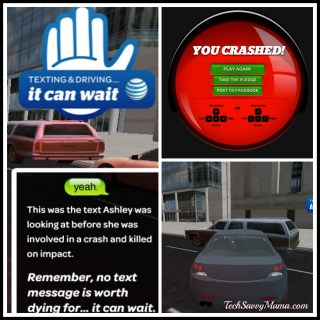 It Can Wait Simulator: Interactive education about consequences of texting and driving