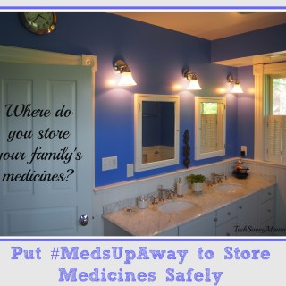 {sponsored} Put #MedsUpAway to Store Medicines Safely