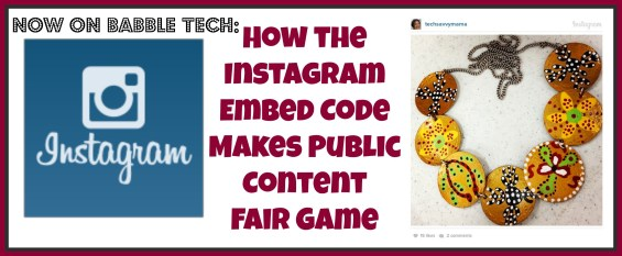 Instagram Embed Code Makes Public Content Fair Game TSM