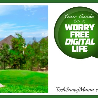 {sponsored} How to Live a Worry Free Digital Life (w. $100 giveaway)