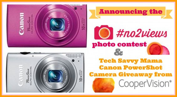 #No2Views photo contest & Tech Savvy Mama Canon PowerShot Camera Giveaway