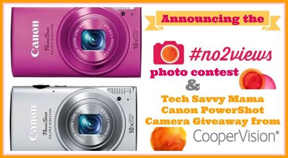 #No2Views photo contest & Tech Savvy Mama Canon PowerShot Camera Giveaway