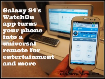 Samsung WatchOn app