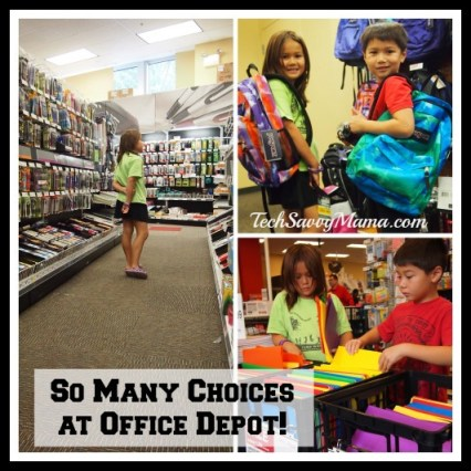 Kids Choose School Supplies #ODRewards