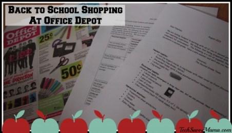 #ODRewards Back to School Shopping