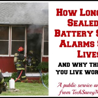 Long-Life Sealed-In Battery Smoke Alarms Required in Maryland {sponsored PSA}