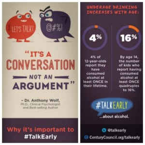 It's a Conversation Not an Argument #TalkEarly