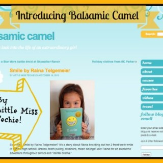 Introducing BalsamicCamel.com by Little Miss Techie!