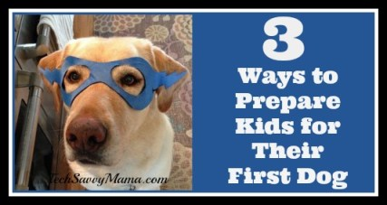 3 Ways to Prepare Kids for Their First Dog