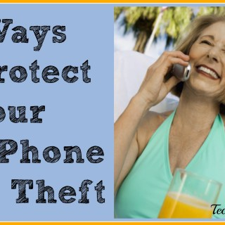 6 Ways to Protect Your Cell Phone from Theft {sponsored}