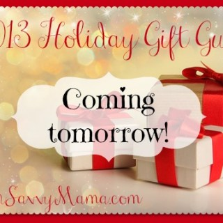 6th Annual Holiday Gift Guides Coming Tomorrow!