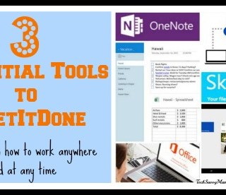 #GetItDone Anywhere & Anytime with Office 365, SkyDrive, and OneNote {sponsored}