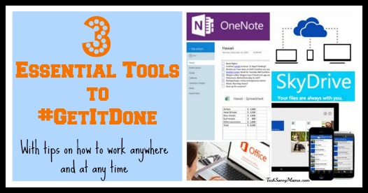 3 Essential Tools to #GetItDone