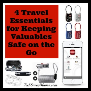 4 Travel Essentials for Keeping Valuables Safe on the Go {sponsored}