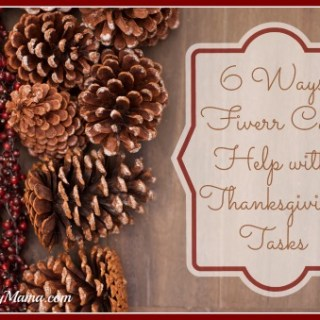 6 Ways Fiverr Can Help with Thanksgiving Tasks {sponsored}