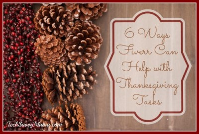 6 Ways Fiverr Can Help with Thanksgiving Tasks