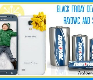 Stock Up & Upgrade: Black Friday Deals from Rayovac and Sprint {sponsored}