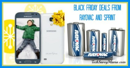Black Friday Deals from Rayovac and Sprint