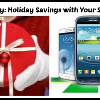 Join me for Techlicious #CricketChats: Holiday Savings with Your Smartphone {sponsored}