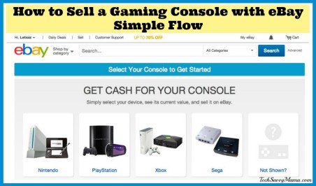 How to Sell a Gaming Console with eBay Simple Flow