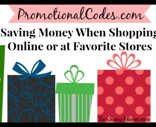 Saving Money When Shopping Online or at Favorite Stores with PromotionalCodes.com {sponsored}