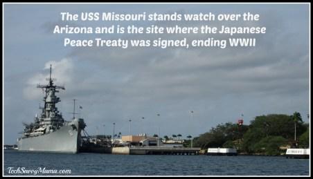 Battleship USS Missouri-Pearl Harbor