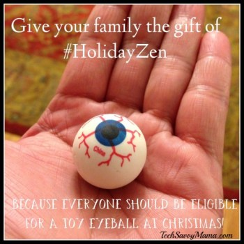 Give your family the gift of #HolidayZen