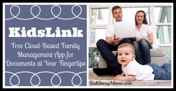 KidsLink Free Cloud Based Family Management Tool