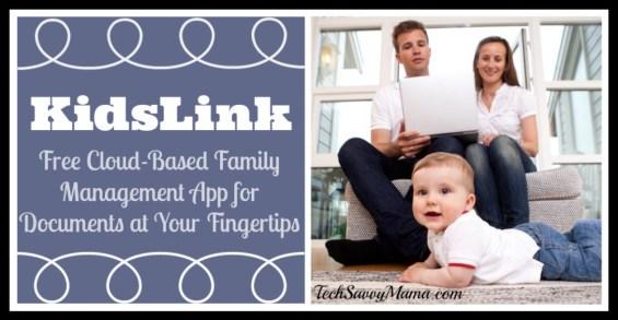 KidsLink Free Cloud Based Family Management Tool