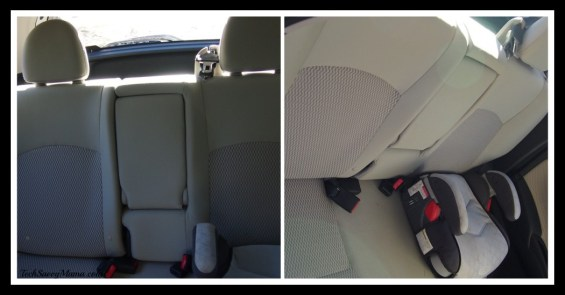 Nissan Versa Note Back Seat