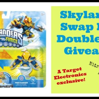 Skylanders Swap Force Starter Pack with Exclusive Duo from Target Electronics {giveaway}