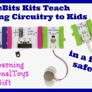 littleBits Kits Teach Beginning Circuitry to Kids + Discount! {sponsored}