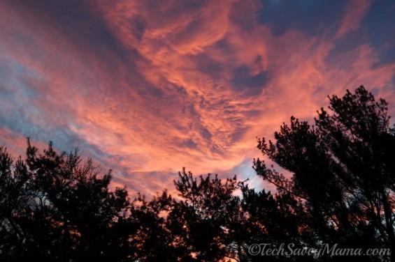 Pre-Polar Vortex Sky