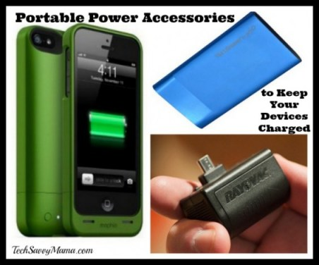 Using Portable Power Accessories to Keep Your Devices Charged