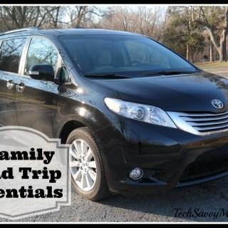 6 Family Road Trip Essentials #SiennaDiaries