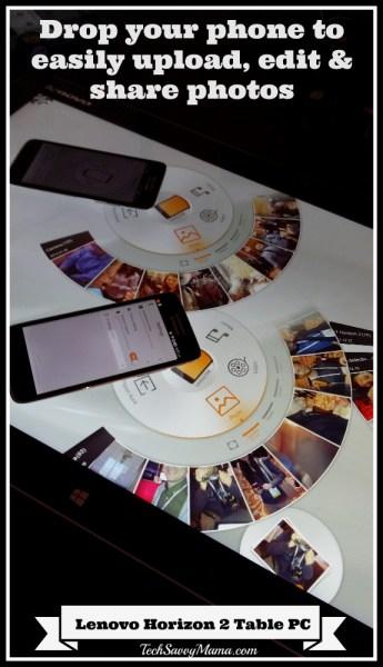 Lenovo Horizon 2 Photo Transfer
