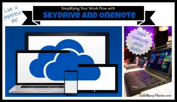 Simplying your Work Flow with Microsoft SkyDrive-OneDrive I TechSavvyMama.com