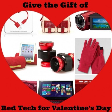 Red Tech for Valentine's Day