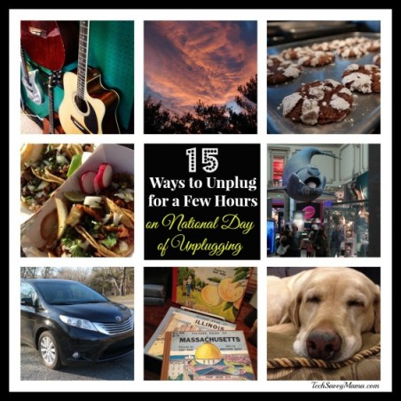 15 Ways to Unplug on National Day of Unplugging