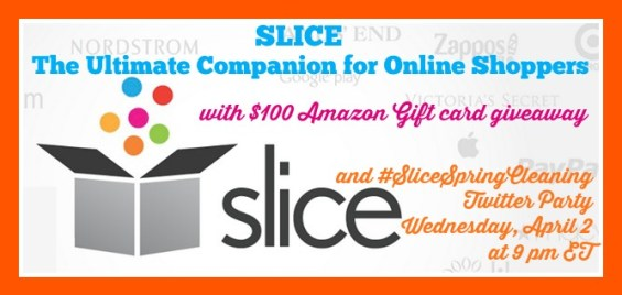 #SliceSpringCleaning Twitter Party & Giveaway on TechSavvyMama.com