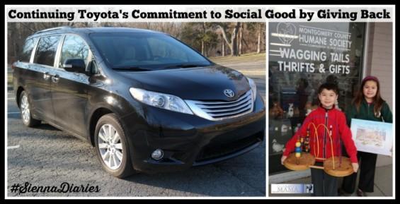 Toyota #SiennaDiaries Social Good