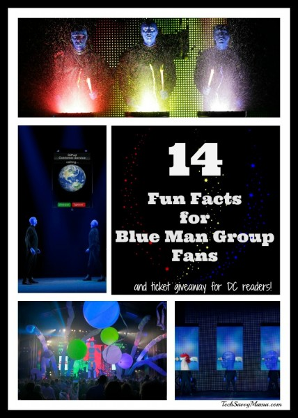 14 Fun Facts for Blue Man Group Fans I TechSavvyMama.com