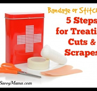 Bandage or Stitches? 5 Steps for Treating Cuts and Scrapes