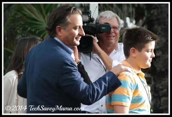Andy Garcia at Rio 2 world premiere, Miami