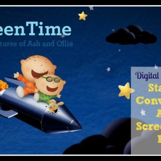 Adventures of Ash & Ollie App Helps Families Start the Conversation About Screen Time with Kids