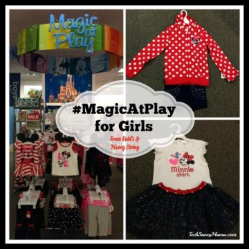 Disney #MagicAtPlay at Kohl's Girls' Line