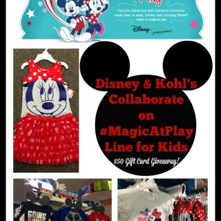 Introducing Disney #MagicAtPlay by Jumping Beans at Kohl's ($50 GC giveaway)