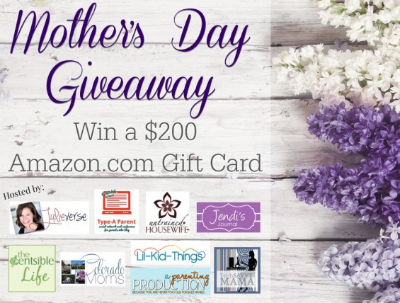 $200 Mother's Day Amazon GC Giveaway