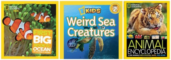 National Geographic Kids Book Titles